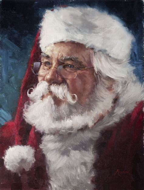 painting santa claus duchess trading new painting annual santa claus 2015