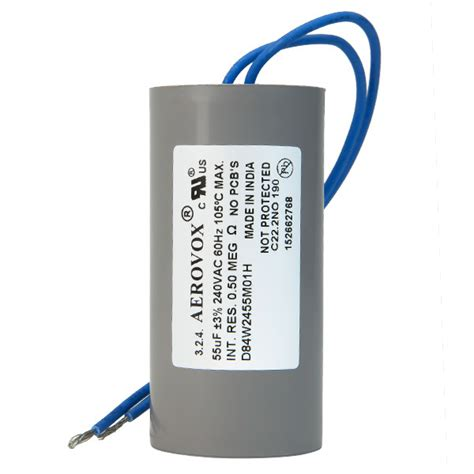 capacitor for hid ballasts hid lighting capacitor 240v aerovox d84w2455m01h