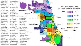 Chicago Crime Rate Map by Chicago Crime Blog All The Statistics You Don T Want To Be