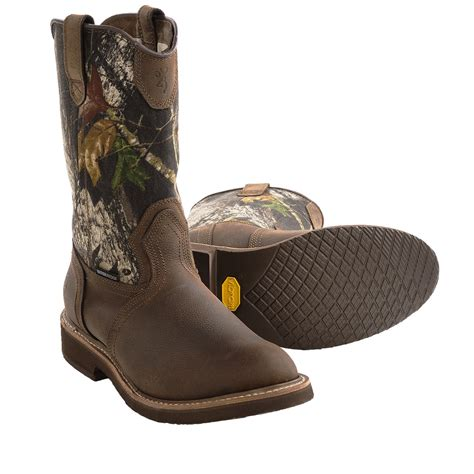 camo boots mens browning camo wellington boots waterproof for