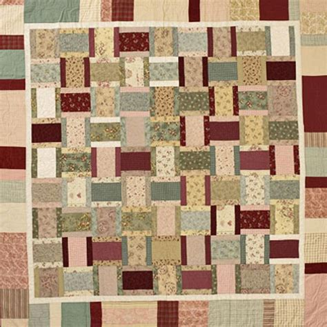 quilt pattern rectangles scrappy rectangles free instructions quilts pinterest