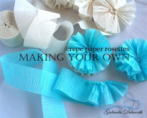 How To Make Crepe Paper Rosettes - 17 best images about ideas on baby