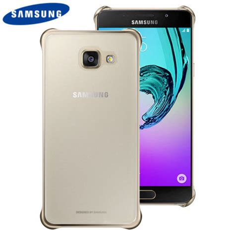 Official Clear Cover Casing Samsung Galaxy Note 5 N9200 Original official samsung galaxy a5 2016 clear cover gold