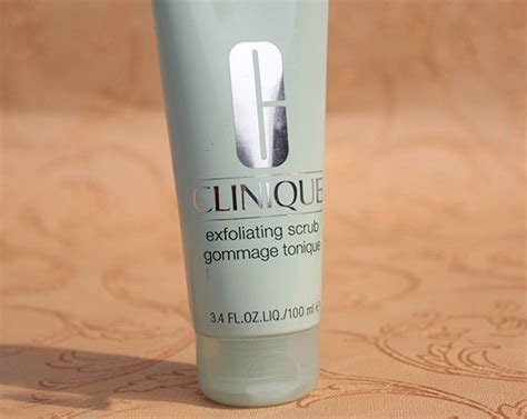 Clinique Exfoliating Scrub clinique exfoliating scrub review