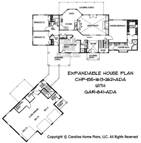 build a house plan build in stages 2 story house plan bs 1613 2621 ad sq ft 2 story expandable house plan 1613 to