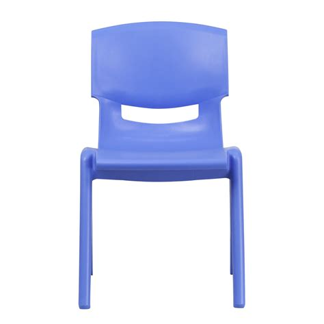 plastic school chairs blue plastic stackable school chair with 15 5 inch seat