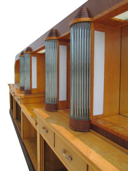 art deco  bar wooden nickel antiques