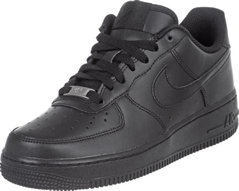 nike air 1 youth gs shoes black