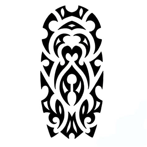 tribal sleeve tattoos stencils tribal sleeve stencil 2015