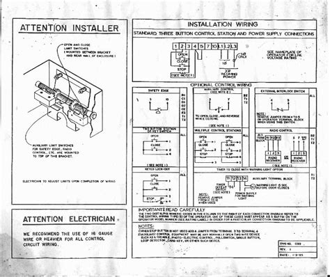wayne dalton commercial opener wiring diagram hvac systems