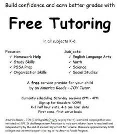 Free Tutoring Flyer Template by Adventures In A Semester Of Being An America Reads Tutor