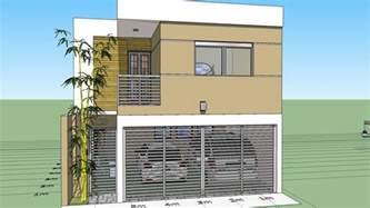 Disenar Una Casa como dise 241 ar una casa de 7x15 mts de terreno youtube