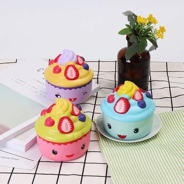 Leilei Cupcake leilei squishy emoji strawberry fruit cup cake