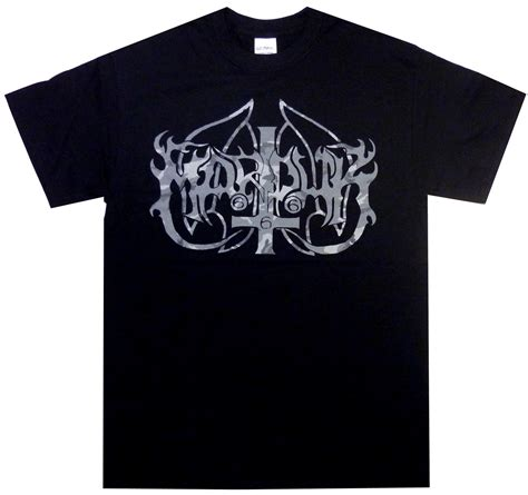 Marduk Band Black T Shirt marduk camouflage logo shirt s m l xl black metal tshirt