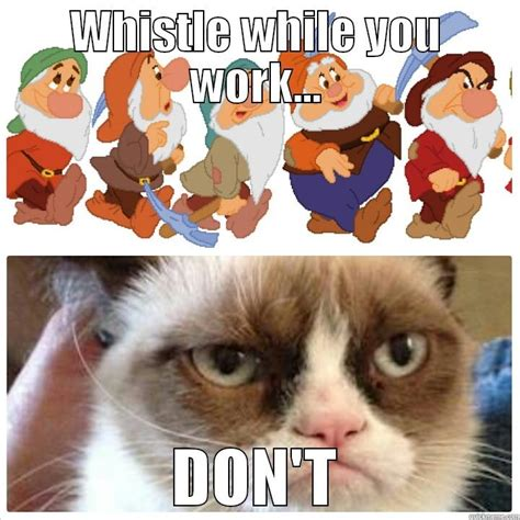 Whistle Meme - whistle while you work animal bioacoustics animal