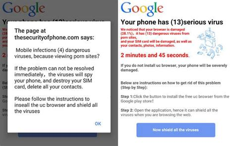 android phone virus warning your android phone never click yes on this pop up tech tips news india today
