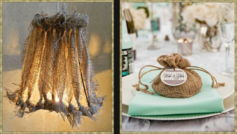 Decorating Ideas With Burlap Eye For Design From The Barn To The Manor Decorating
