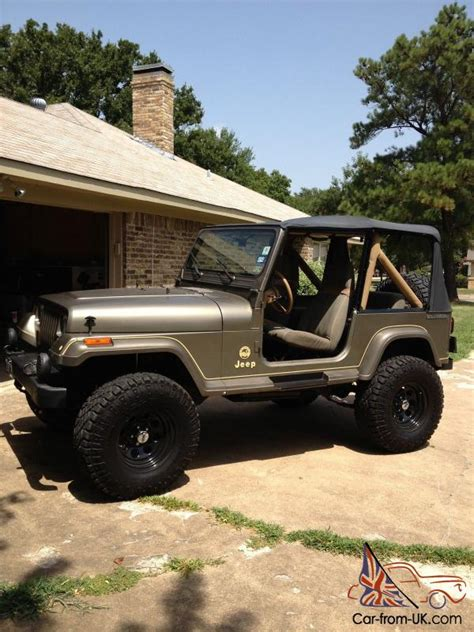Jeep Owned By 1988 Jeep Wrangler Owned By Carroll Shelby
