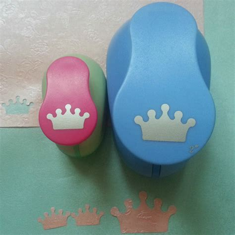 Craft Paper Punch Set - free shipping 2pcs crown 1pc 2 and 1pc 1 craft punch set