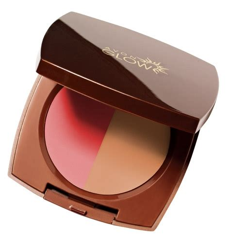 Silkygirl Shimmer Duo Blusher 04 Glow avon glow summer 2013 collection musings of a muse