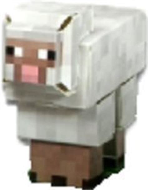 Minecraft Sheep Papercraft - minecraft sheep paper craft