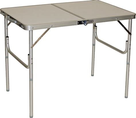 folding table 3 fold n half aluminum table direcsource ltd 69056