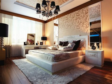 bed decoration bedrooms with traditional elegance