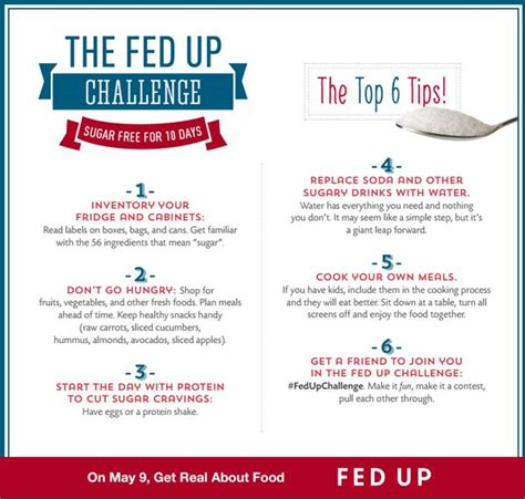 Sugar Detox Fed Up by The Fed Up Challenge Go Sugar Free I Just Found Out