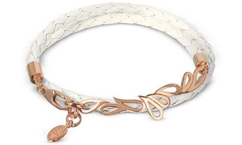 Bangle Korea Plated Gold Leather Kb27739 Zabu sho white mari fiendship gold plated leather bracelet at forzieri