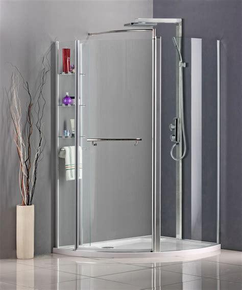 bodengleiche dusche mit wegklappbaren glast ren fertigduschkabinen richtig installieren wie geht das
