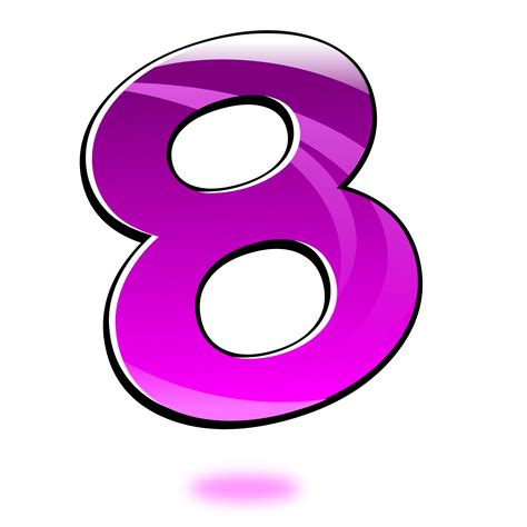 section 8 office number section 8 office number clipart glossy number eight