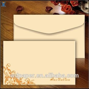 Undangan Custom Kertas Paper 260gsm kustom sederhana desain undangan pernikahan dalam gambar