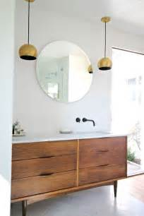 mid century modern bathroom vanity ideas 35 trendy mid century modern bathrooms to get inspired