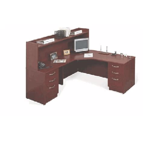 L Shaped Office Desk Corner Return With Bookcase Hutch L Shaped Desk With Bookcase