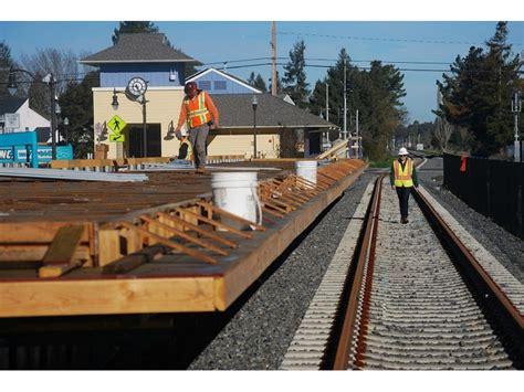 photos work continues on cotati smart rail depot
