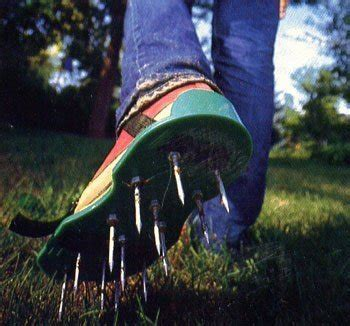 build lawn aerator sandals curbly