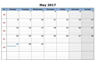 Blank Week Calendar Blank 3 Week Calendar Calendar Template 2016