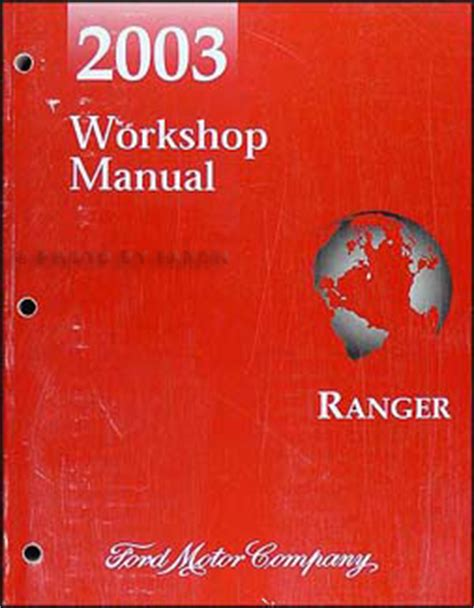 2003 ford f 150 repair shop manual original 2 volume set 2003 ford ranger repair shop manual original