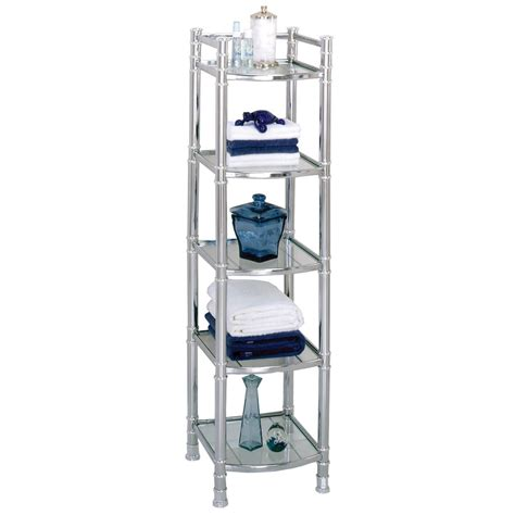 Bathroom Standing Shelves The Best Choice Of Free Standing Bathroom Shelf Ideas Orchidlagoon