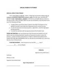 Power Of Attorney Template by Power Of Attorney Template Real Estate Forms