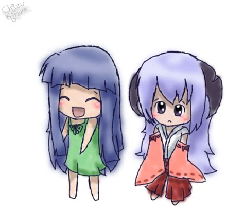 doodle rika rika chan and hanyuu doodle by c h i z u on deviantart