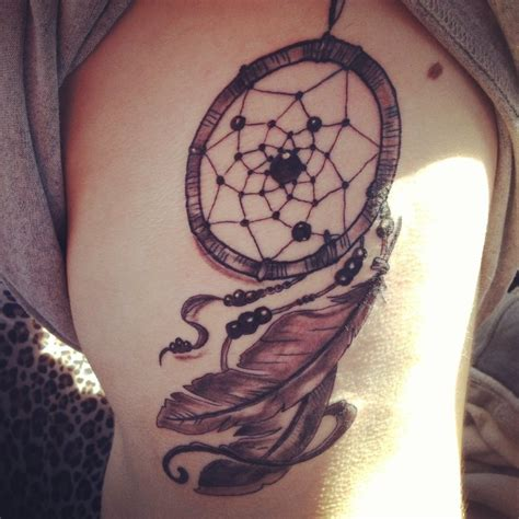 dream catcher side tattoo dreamcatcher tattoos designs ideas and meaning tattoos