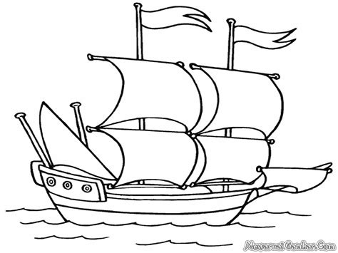 mewarnai gambar kapal laut mewarnai gambar