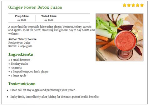 Power Juicer Recipes Detox power detox juice recipe humans are free