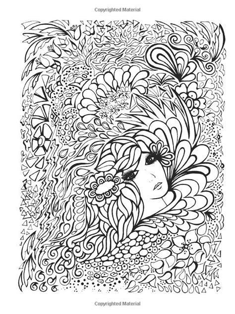 coloring pages for adults faces creative fanciful faces coloring book coloring for