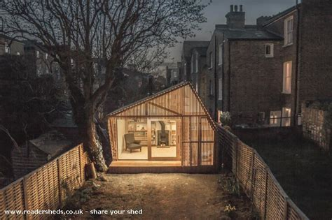 Writers Shed by Writer S Shed Workshop Studio From Garden Owned By Tom