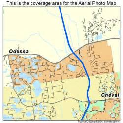 aerial photography map of odessa fl florida