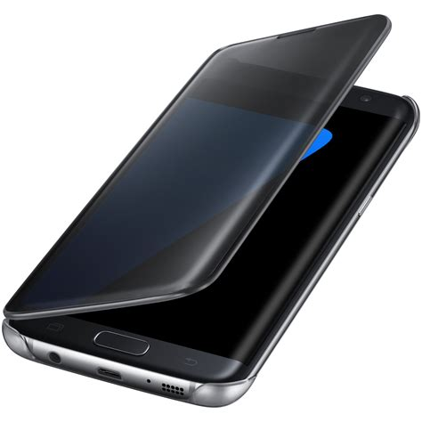 Clear View Samsung S7 Edge Original Blue Topaz samsung clear view cover noir samsung galaxy s7 edge