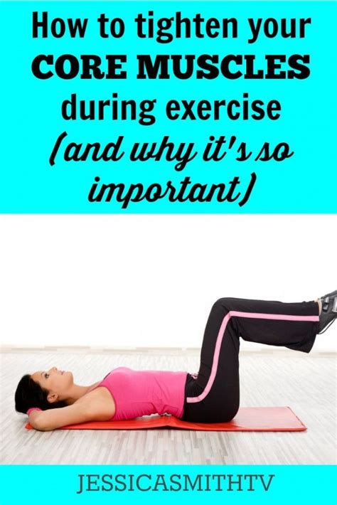 how to tighten your muscles during exercise and why it s so important for working