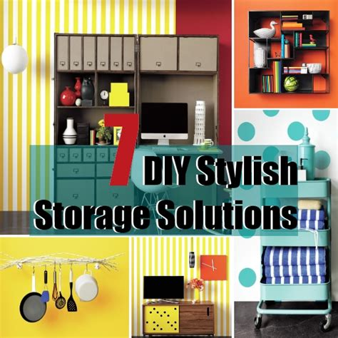 stylish home storage solutions diy 7 stylish storage solutions for your home diy home